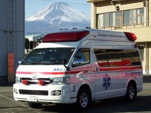 裾野3(高規格救急車)
