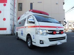救急長泉3(高規格救急車)